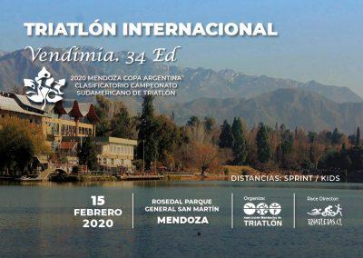 Triatlón Internacional Vendimia 34ed