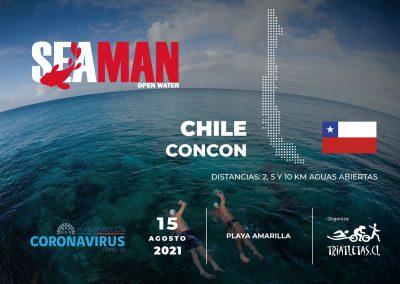 SEA MAN OPEN WATER  Concon  2021