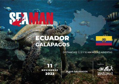 SEAMAN Galápagos Ecuador 2022